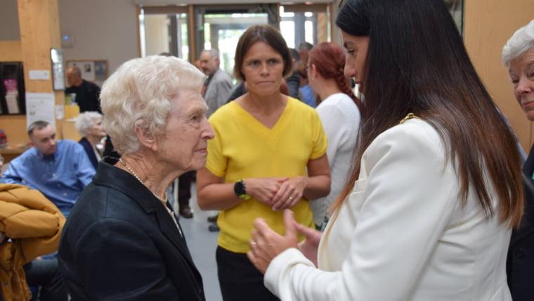 Mayor Kath Hay at an Award Ceremony