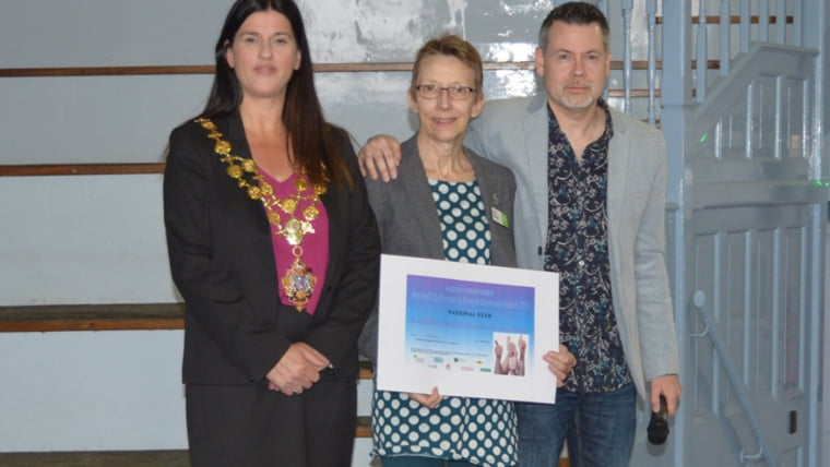 The winner of the Highly Commended award, for recognising outstanding work, went to National Star Hereford.