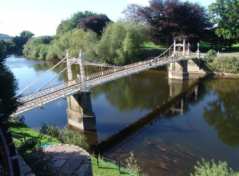 Victoria Bridge Hereford