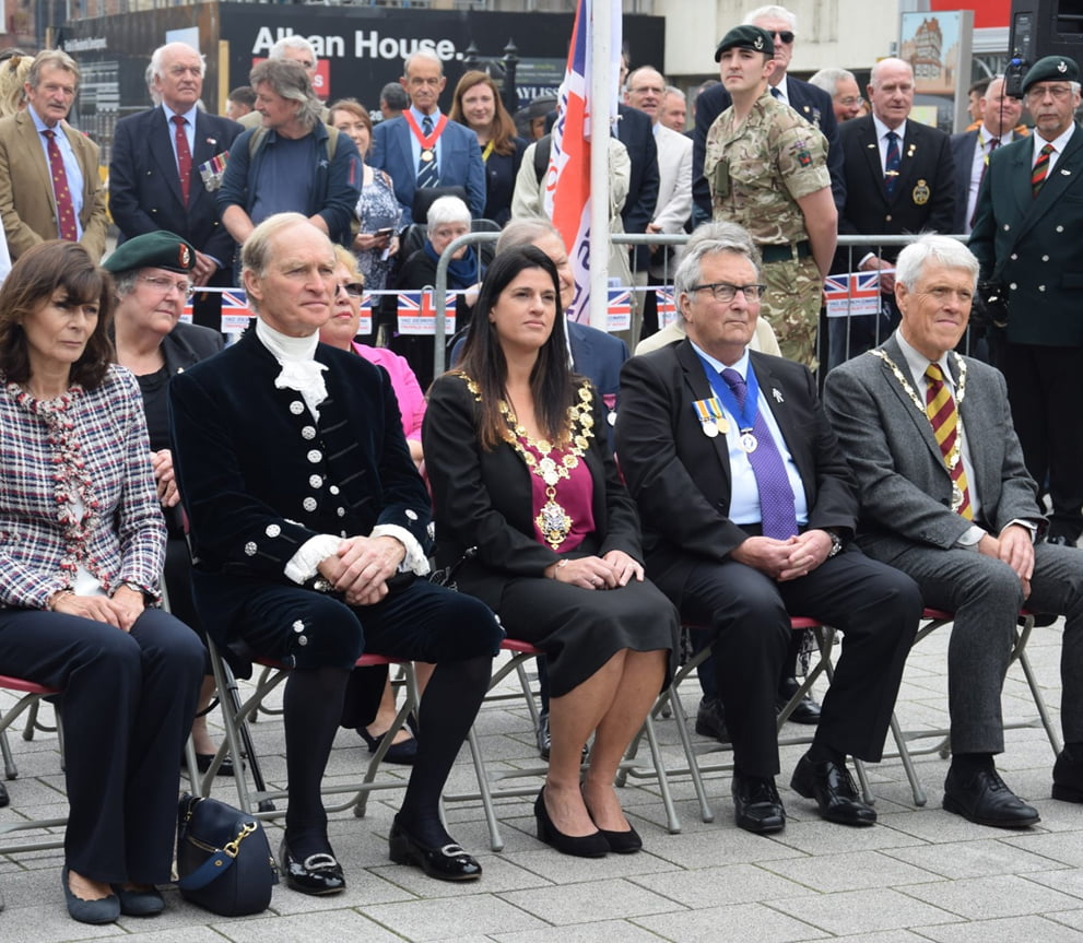 Herefordshire Councillors Attending Military Display