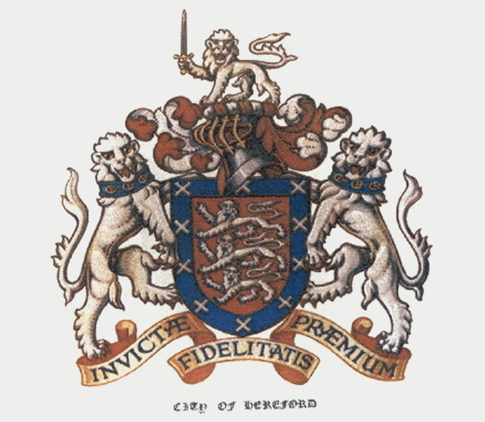 Herefordshire Coat of arms