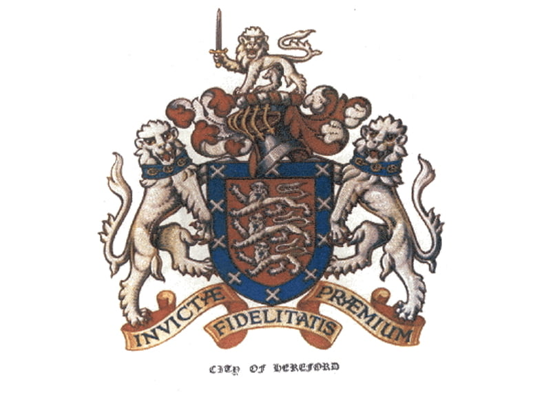 Hereford Coat of arms