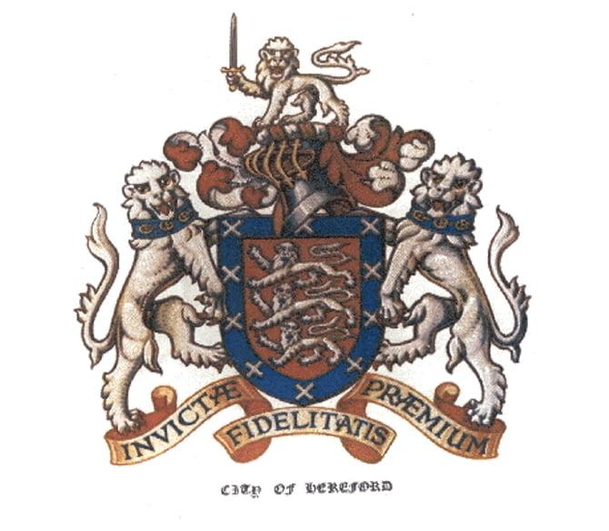 Herefordshire Crest