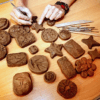 Help Craft 2020 Clay Mosiac Memory Tiles!